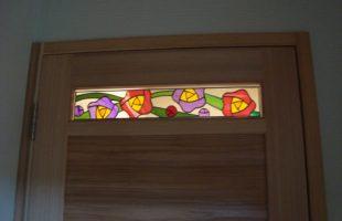 ステンドグラスの彩り